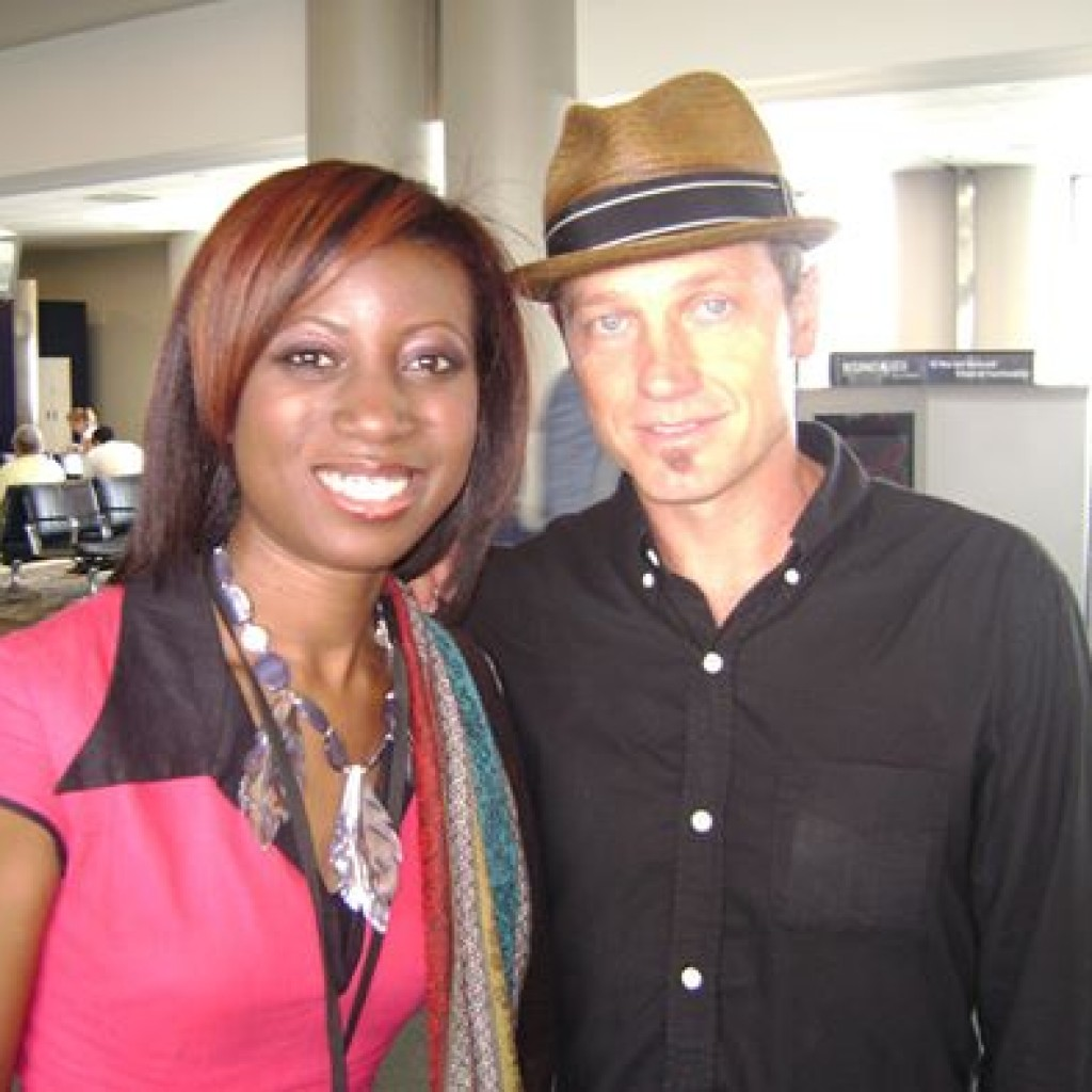Saw Toby Mac at Nashville Airport