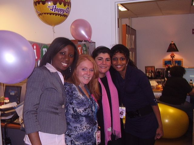 TPC Creative Team Sistas Celebrating Mandy's Birthday