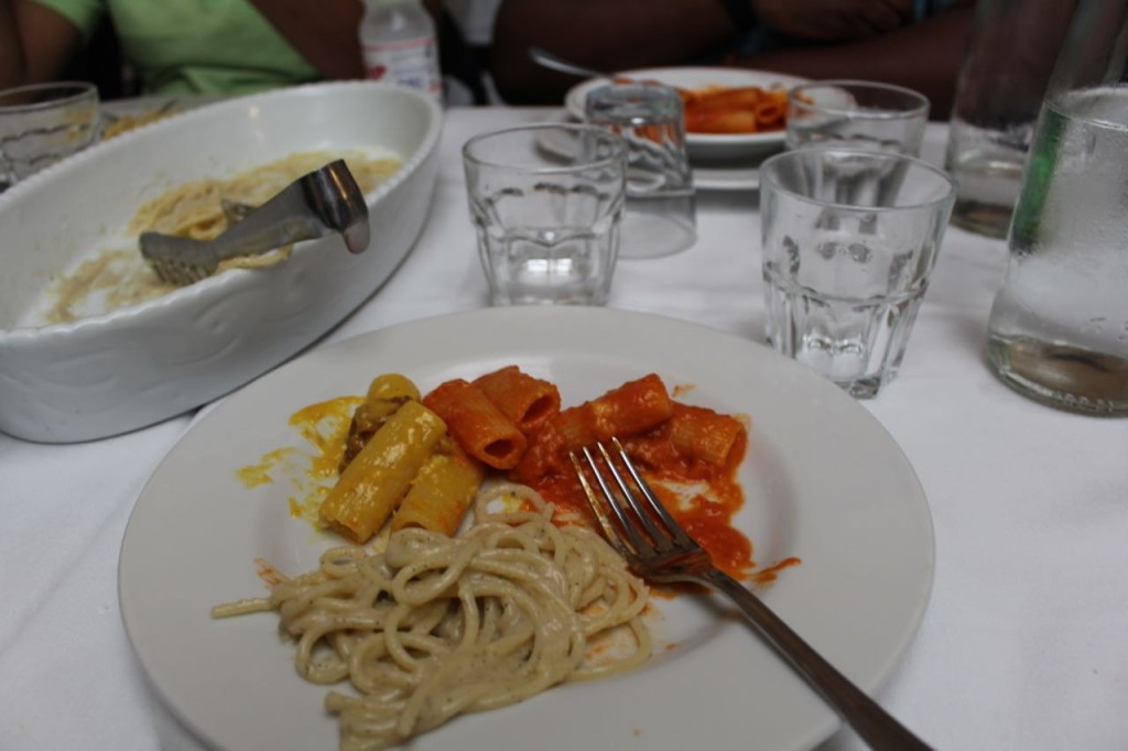 Italian Food Touring, Tasting and Eating