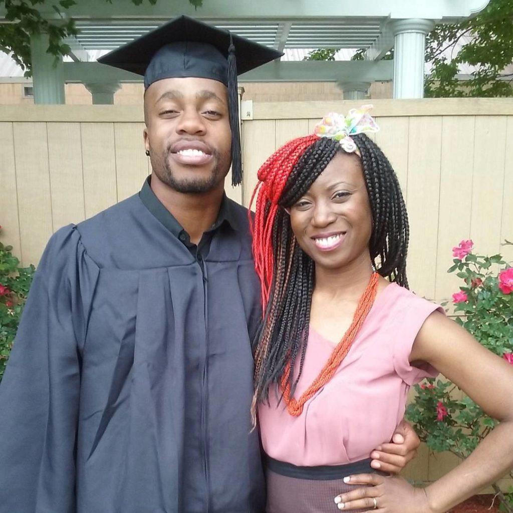 Congrats Graduate Etim!